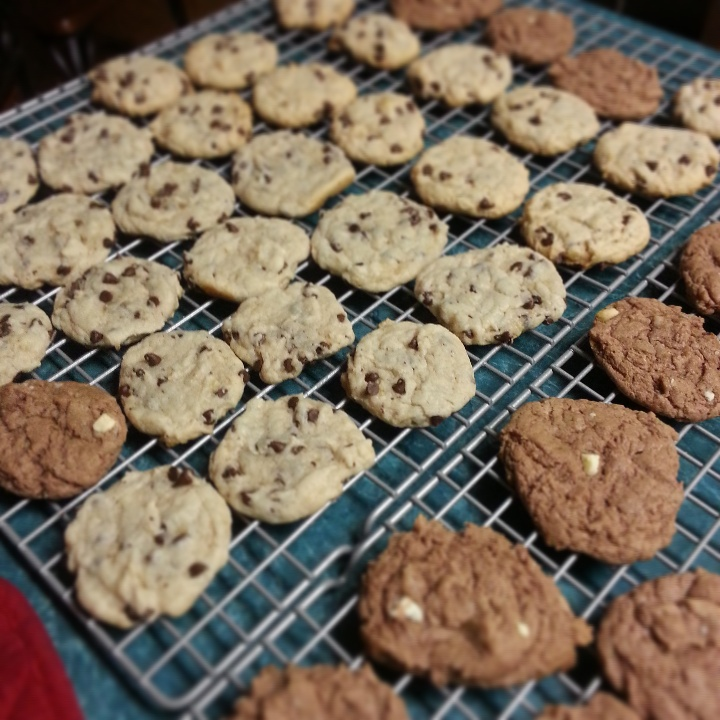 cookies, cake batter, cake mix